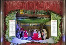 2014 Myer Christmas Windows / 2014 Myer Melbourne Animated Christmas Windows 2014 theme - Santa Claus and the Three Bears