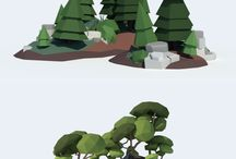 low poly examples