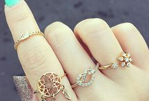 Jewelry / Cute rings and stuff