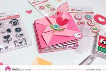 San Valentín scrap / Ideas, tutoriales, inspiración de scrap relacionados con el amor, y día de los enamorados: San Valentín