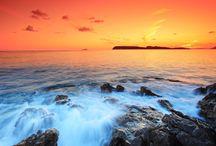 sunset wallpaper / 0