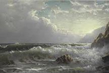 William Trost Richards - American landscape artist / William Trost Richards (June 3, 1833 - November 8, 1905) was an American landscape artist. He was associated with both the Hudson River School and the American Pre-Raphaelite movement.
