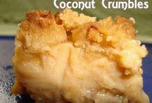 Coconut Desserts Cookies and Cakes