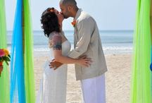Cocoa Beach Beach Weddings / Getting on a cruise in Cocoa Beach and wanting to get married? Get Married on the beautiful beaches in Cocoa Beach with Elitebeachweddings.com and then board your cruise to set sail for your honeymoon!