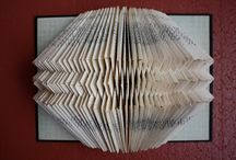 Altered Books / Projects using altered and folded book pages / by Kathryn Toothill