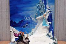 cake Frozen theme