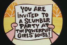 birtday party idea 'Powerpuff girl'