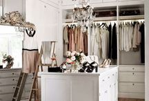 Dream Closets / SPACE and more SPACE.    WITHOUT THE SHIP!!!!! / by Francie DePaolo