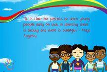 Wonderful Diversity Quotes / We celebrate Cultural Diversity with these wonderful quotes.