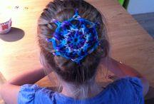 Rainbow loom / Creatief met rekjes!