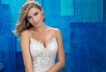 """Glitz and Glam Bride / """"Diamonds are a girl's best friend"""" - Marilyn Monroe. Timeless advice don't you think? We certainly think so! Below are gowns we guarantee will shine throughout your entire wedding night.  All featured wedding dresses are available for purchase at Weddings with Joy, located in Olympia, Wa."""