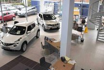 Yeomans Nissan, Worthing / UK Tiles Direct were selected to install porcelain tiles in the Yeomans Nissan, Worthing, showroom - here's how we got on!
