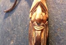 Green Man, Wood Spirits and Spiritual / Carving