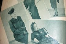 German 1940s Fashion / An inspiration board so I can put together a proper German civilian impression for ww2 / by Katie K