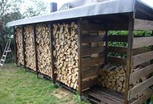навесы для дров