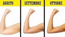 esercizio braccia