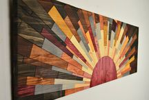 Wood Wall Art & Bild