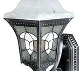 Residential Outdoor Lighting / Decorative wall mount lights, chain mount lights, post mount outdoor lighting fixtures.