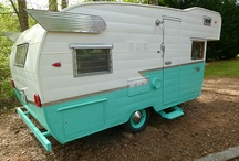 Vintage Trailers / by Heather Petrie
