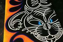 Pinstripe Art / by Monika Roe
