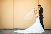 Romantic Bride and Groom Portraits