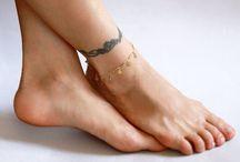 Anklets / Fun boho chic anklets #anklets #boho
