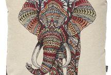 Kissen Afrika