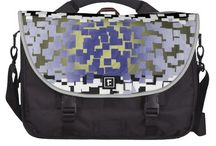 Travel Bags / Great computer and travel bags for your time away on vacation. Graphic art in many geometric patterns and digital designs.
