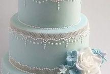 Wedding Blue.Gold