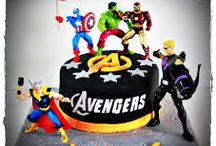 Gâteaux Avengers