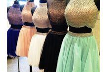 vestido corto pedreria
