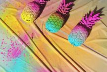 Tropical neon party