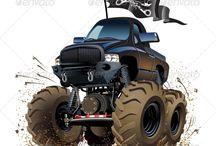 3 wheelies