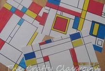 Classroom Art Projects / by Kelly Hagfeldt