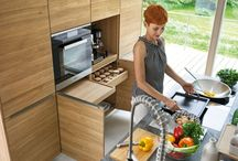 Küche-Design-Idee – Pull-Out-Zähler