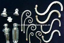 LAMPARAS DE CRISTAL RESTAURACION Y VENTA / Fabricamos artesanalmente y vendemos al público   lámparas  de clásicas  cristal, bronce y latón, de la máxima calidad.  #restauracionlamparas #restauraciondelamparas #lamparas #arañasdecristal  #lamparasclasicas