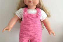 doll dungarees