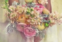 Sarah & Ralph / April 2014 - vintage inspired with lots of pastel bunting - mismatched pastel bridesmaids dresses, lemons, powder blue, shell pink, creams