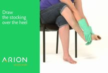 How to put on Compression Stocking