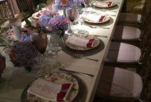 Mesa de convidados / Romântico