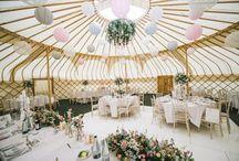 Alternative Weddings / Yurts, teepees and alternative wedding venues and ideas