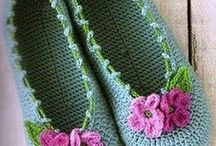 Crochet - footwear / by kerry hughes