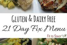 21 day fix gluten/dairy free