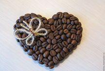 káva-srdce
