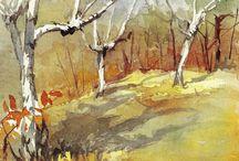 Silvio Bonelli artist (1908-1989) / acquerelli