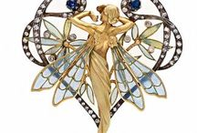 Art nouveau / A very special and enormously inspired period. More organic than art deco an infinitely beautiful.