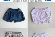 shorts upcycled denim