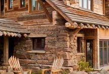 maison bois pierre