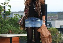 Jean skirt outfits