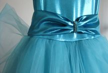 The Blue Dress / A fairy tale dress made with passion and high quality materials, for a sweet little Princess.